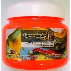 Acrylique Scolaire Star Color - 500 ml - Vert Fluo
