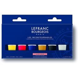 Set Acrylique Fine Les incontournables 6 x 20ml - Lefranc Bourgeois