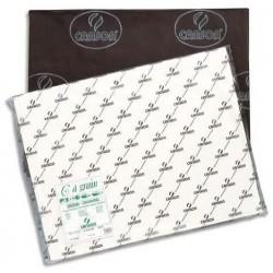 Feuille C à GRAIN® 50X65 224G Blanc - Canson