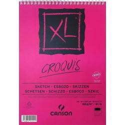 Album de Croquis XL 100 g/m² - A4  29.7 x 21 cm - 50 F - Canson