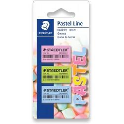 Set de 3 Gomme - Staedtler Pastel Line