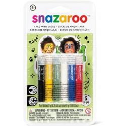 Pack de 6 Sticks de Maquillage Halloween pour Visage - Snazaroo