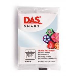 Pâte polymère  Blanc Nacré 57g - DAS Smart