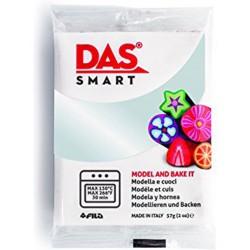 Pâte polymère  Rouge Glitter 57g - DAS Smart