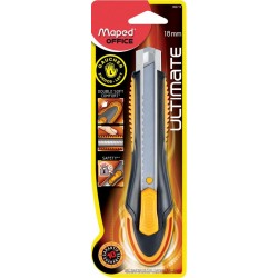 Cutter Ultimate 18 mm pour gaucher - Maped