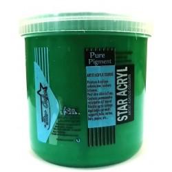 Acrylique Scolaire Star Color - 500 ml - Vert Emeraude