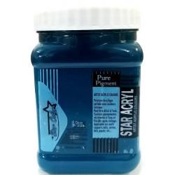 Acrylique Scolaire Star Color - 500 ml - Vert Pistache