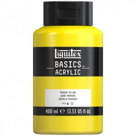 Acrylique Liquitex Basics - 400 ml : Blanc de Titane 432