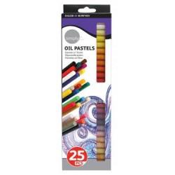 Set de 50 Pastels à l'huile Simply - Daler Rowney