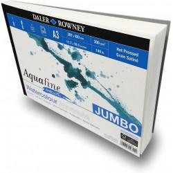 Bloc Papier Aquarelle Lisse A4 300 g 50F Aquafine - Daler Rowney