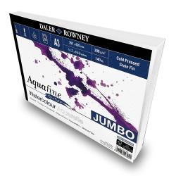 Bloc Papier Aquarelle Texture  A3 300 g 50F Aquafine - Daler Rowney