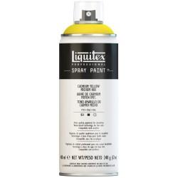 Jaune de cadmium, teinte moyenne 5 - Aérosol Liquitex 400 ml