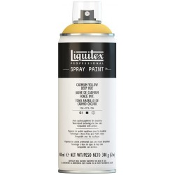 Teinte moyenne jaune de cadmium - Aérosol Liquitex 400 ml