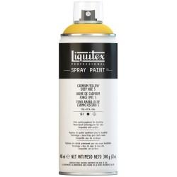Teinte foncée jaune cadmium - Aérosol Liquitex 400 ml