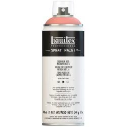 Rouge cadmium clair teinte 6 - Aérosol Liquitex 400 ml