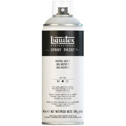 Gris Neutre n°8 - Aérosol Liquitex 400 ml