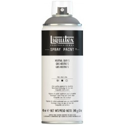 Gris Neutre n°7 - Aérosol Liquitex 400 ml