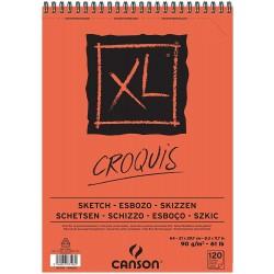 Album de Croquis XL 90 g/m² - A4 29.7 x 21 cm - 120 F - Canson
