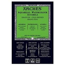 Feuille Aquarelle 76 x 56 cm  300 g/m² - Arche