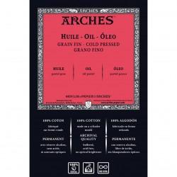 Papier huile - feuille 100% coton - 300g/m² - 56x76cm - Arches