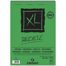 Album Recyclé XL A3 - 160 g/m², 50 F - 42 x 29.7 cm - Canson
