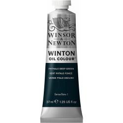 Peinture à l'huile Wintor 37ml Vert jaune azo 280 - Winsor & Newton