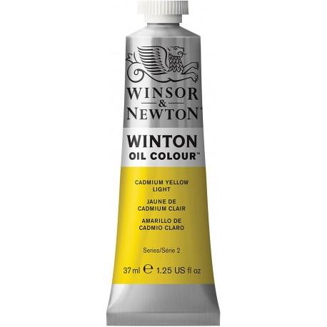 Peinture à l'huile Wintor 37ml Jaune de Cadmium Citron 086 - Winsor & Newton