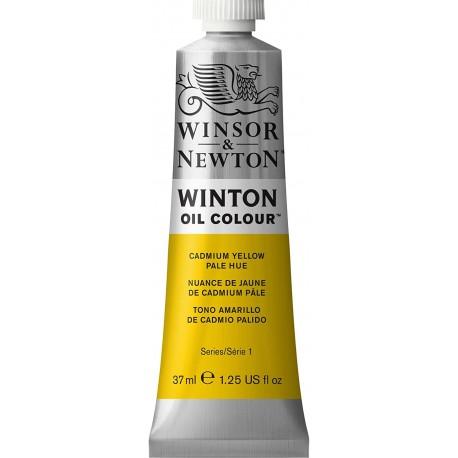 Peinture à l'huile Wintor 37ml Jaune de cadmium clair 113 - Winsor & Newton
