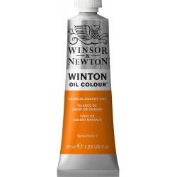 Peinture à l'huile Winton 37ml Teinte foncée jaune de cadmium 115 - Winsor & Newton