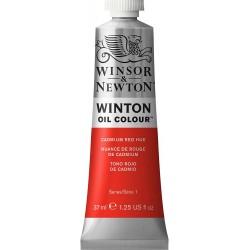 Peinture à l'huile Winton 37ml Rouge de cadmium moyen 099 - Winsor & Newton