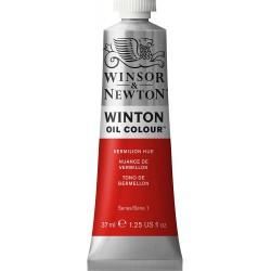 Peinture à l'huile Winton 37ml Teinte rouge de cadmium 095 - Winsor & Newton