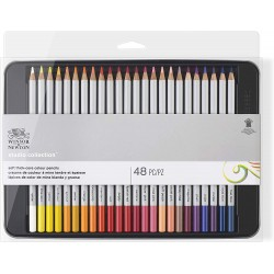 Studio Collection 48 crayons de couleur - Winsor & Newton