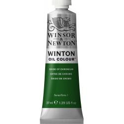 Peinture à l'huile Winton 37ml Teinte viridienne 696 - Winsor & Newton