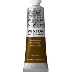Peinture à l'huile Winton 37ml Terre d'Ombre brûlée 076 - Winsor & Newton