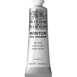 Peinture à l'huile Winton 37ml Blanc de Titane 644 - Winsor & Newton