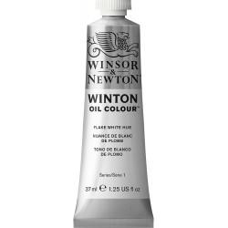 Peinture à l'huile Winton 37ml Blanc de Zinc 748 - Winsor & Newton