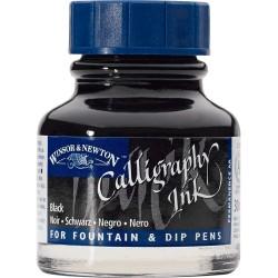 Encre de calligraphie Jaune Winsor 30 ml - Winsor & Newton