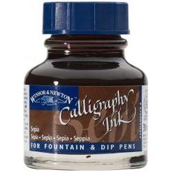 Encre de calligraphie Sépia 30 ml - Winsor & Newton