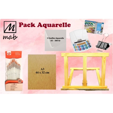 Pack Aquarelle 2021