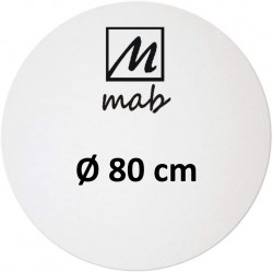 Châssis Entoilé Format Rond Coton Ø 25 - Mab