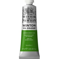 Peinture à l'huile Winton 37ml Teinte écarlate de cadmium 107 - Winsor & Newton
