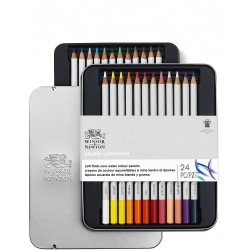 Studio Collection 24 Crayons Aquarelle - Winsor & Newton