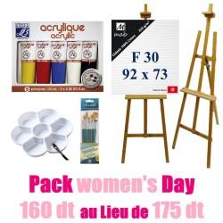 Pack de Peinture women's Day