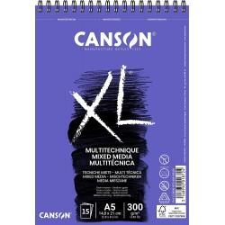 Album Mix-Media XL  A4 - 300 g/m², 30 F - 29.7 x 21 cm - Canson